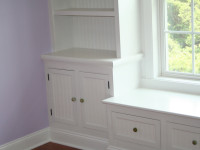 Custom Cabinets, Shelves and Window Seat by DCI Home Works - Call 1-800-254-3643 to Discuss Your Next Home Improvement Project