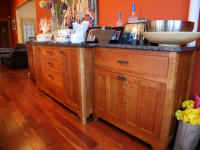 Custom Cabinets with Drawers and Granite Counter Top - If You Can Dream it...DCI Home Works Can Build It - 1-800-254-3643