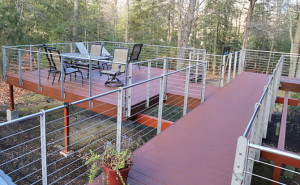 Elevated-Deck-With-Cable-Rail-System