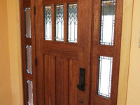 Add Curb Appeal with a New Entryway, Including Custom Made Doors and Sidelights - Call 1-800-254-3643 for and Estimate