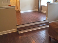 Hardwood floor installed by DCI Home Works