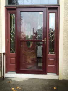 new-storm-door-trim